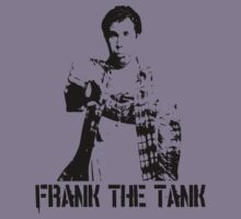 Old School … Frank the Tank (Black) by OliveB
