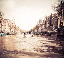 Amstel River Afternoon  by Crystal  Ash