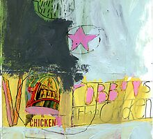 robby versus the chicken by Shylie Edwards