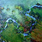 Fisherman's Bend   ( Belubula River) by Redviolin