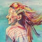Wind in my hair by christine purtle