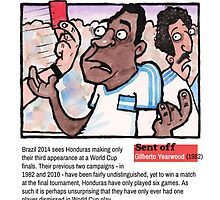 Red Cards - Honduras by dotmund