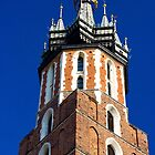 St. Mary's Church Tower by PatiDesigns