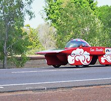 Darwin to Adelaide Solar Car Challenge 2013 by Sean  Carroll