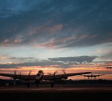 Lancasters Depart by James Biggadike