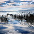 Rowing in the sky by Hercules Milas