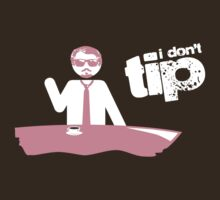 """I Don't Tip"" Mr. Pink by Lyubomir Gizdov"
