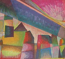futuristic skyline by purplestgirl