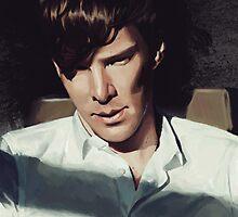 Benedict Cumberbatch by VieWoodman