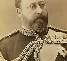 King Edward VII as Prince of Wales by Bridgeman Art Library