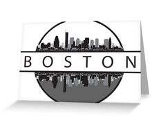 Boston Massachusetts Greeting Card