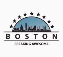 Boston Massachusetts Freaking Awesome by FamilyT-Shirts