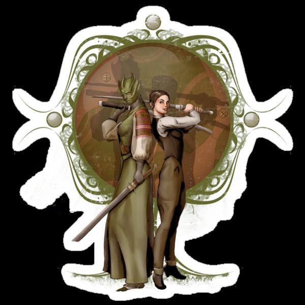 Madama Vastra and Jenny Flint by Steevin Love