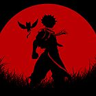 Red Moon Natsu by epyongart