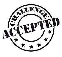 Challenge Accepted Design Stempel by Style-O-Mat