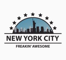 New York City New York Freaking Awesome by FamilyT-Shirts