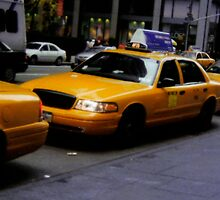 New York City Taxi by CadburyKeepsake