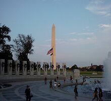 Washington Monument in Washington, DC by CadburyKeepsake