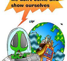 Fox News meets UFO by Skree