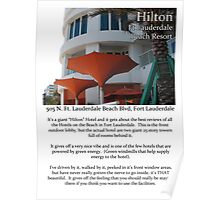 "Fort La Tee Dah ""The Hilton"" Poster"