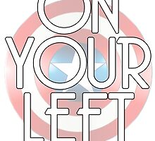 On Your Left by Jessica Becker