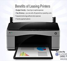 A Quotographic on the Benefits of Leasing Printers by Infographics