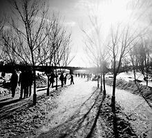 Assiniboine River Skate by Abby Matheson