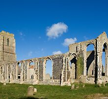 St Andrew's Church, Covehithe, Suffolk by Kawka