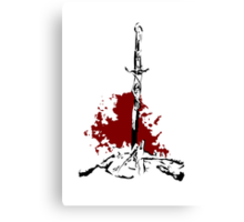 Blood of the Bonfire Canvas Print