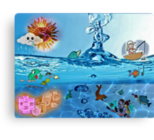 Protect Our Oceans? Canvas Print