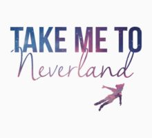 Take Me To Neverland Kids Clothes