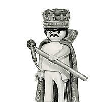 Freddie Mercury Playmobil by drawingpencil