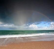 The rainbow by Olha Rohulya
