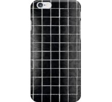 Black tile iPhone Case/Skin