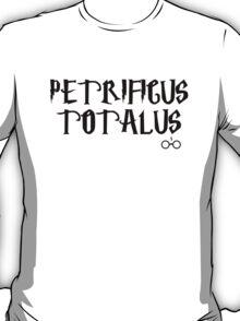 Petrificus Totalus charm - Harry Potter T-Shirt