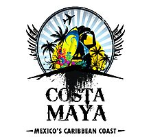 Costa Maya Photographic Print