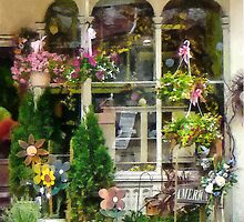 Strasburg Flower Shop by Susan Savad