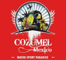 Fine Beach Of Cozumel by dejava