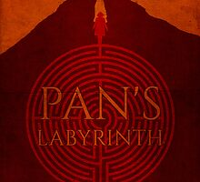 Dreams of Blue Skies - Pan's Labyrinth Poster by edwardjmoran