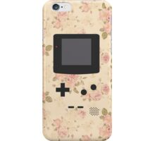 Gameboy Floral Phone iPhone Case/Skin