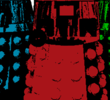 Daleks (Multicoloured!) Sticker