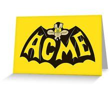 Nolan ACME Greeting Card