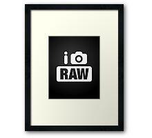 i [shoot] RAW Framed Print