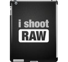 i shoot RAW iPad Case/Skin