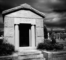 Dickey Mausoleum, Historic Oakland Cemetery, Atlanta, Ga by Scott Mitchell