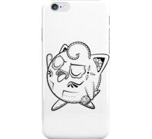Jigglypuff de los Muertos   Pokemon & Day of The Dead Mashup iPhone Case/Skin