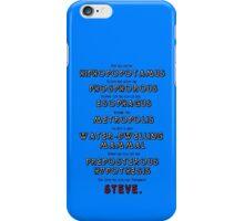 HipHopopotamus VS Rhymenoceros iPhone Case/Skin