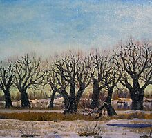 March Trees by Alexey Yarygin