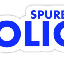Spurbury Police Sticker