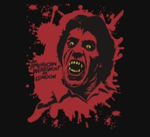 An American werewolf  in London - blood splatt by Buby87